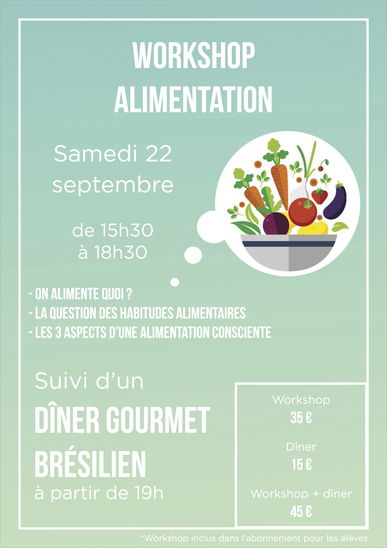 Workshop sur l'Alimentation