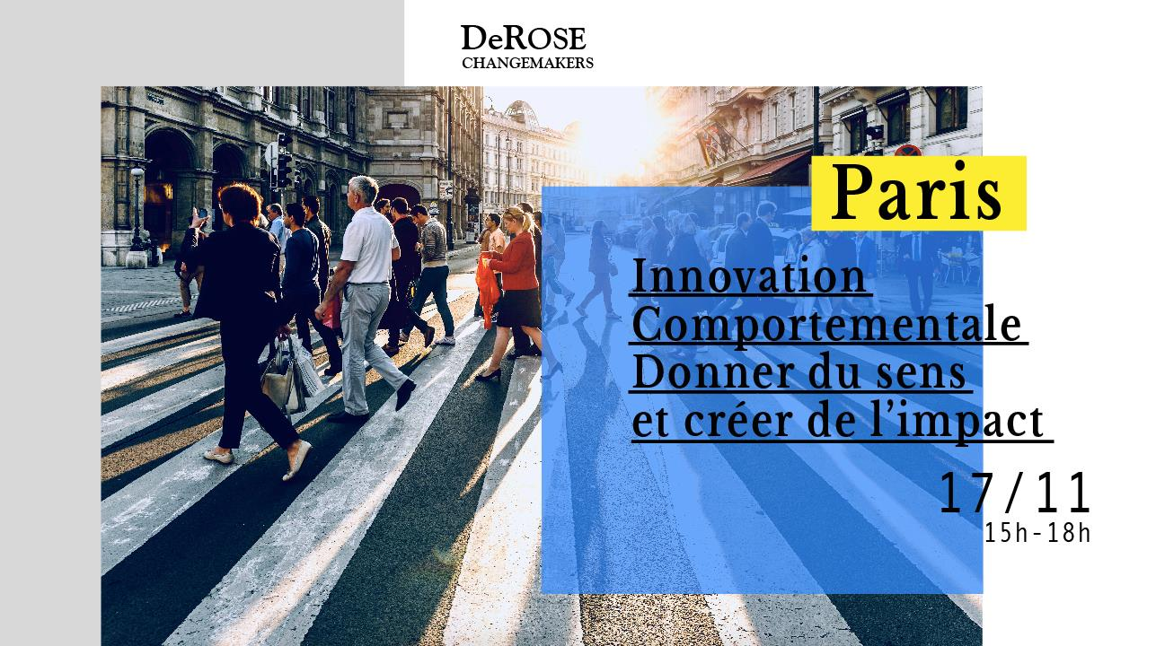 Workshop Paris – Innovation comportementale