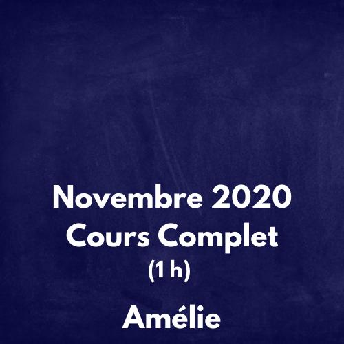 Avril 2020 Cours Complet Amélie (4)