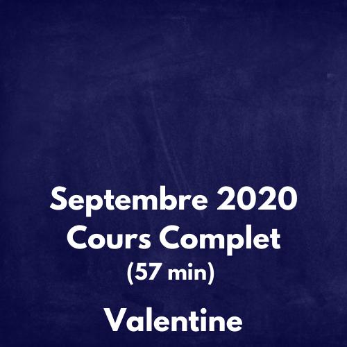 Avril 2020 Cours Complet Amélie