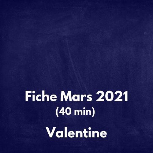 Fiche mars 2021