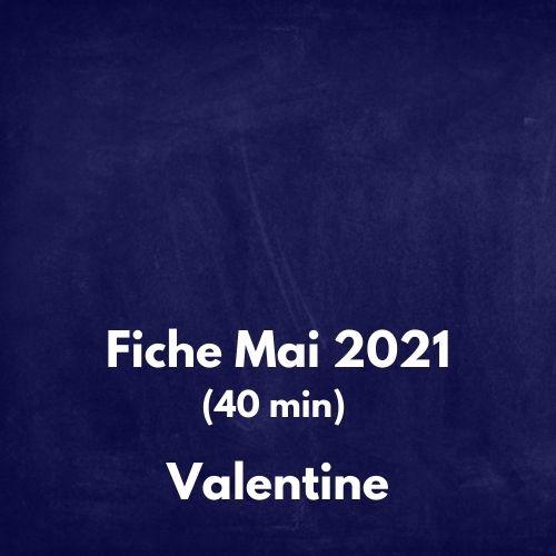 fiche mai 2021