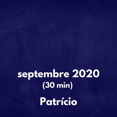 (2020-09) 30 min cours Preparatoire Patricio